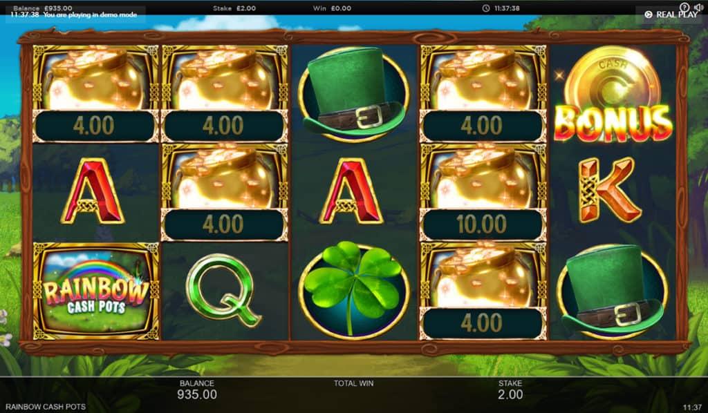 Rainbow Cash Pots Slots