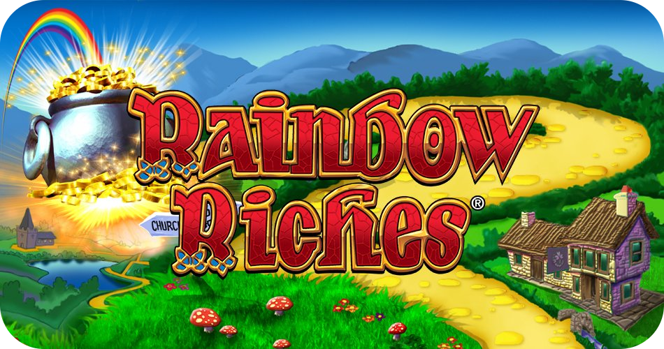 Rainbow Riches Slot - Logo Image