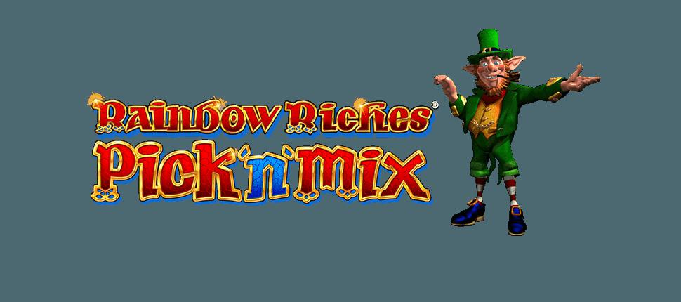 Rainbow Riches Pick N Mix slot Logo