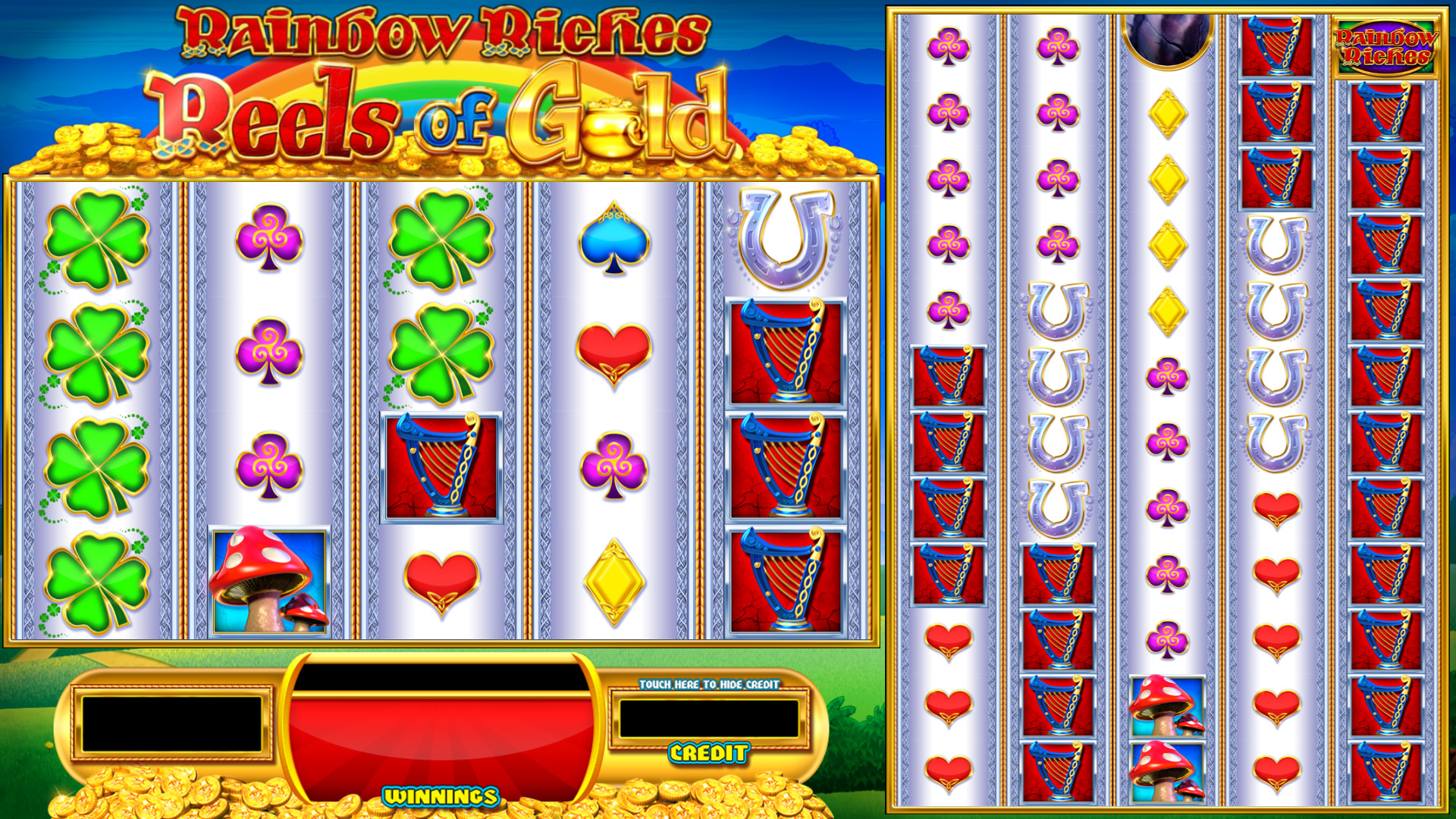 Rainbow Riches: Reels of Gold Slot Game