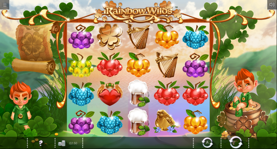 Rainbow Wilds Free Slots