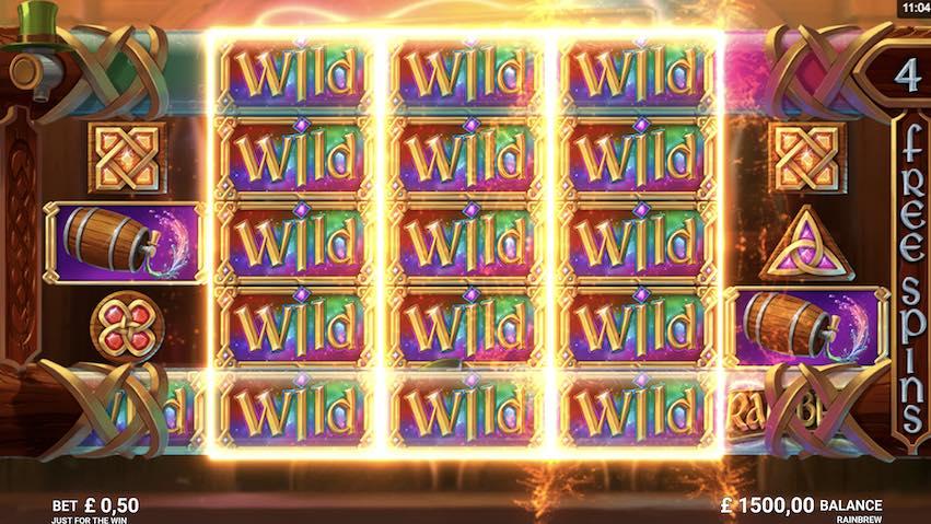 Play Rainbrew Slot Wild Reels
