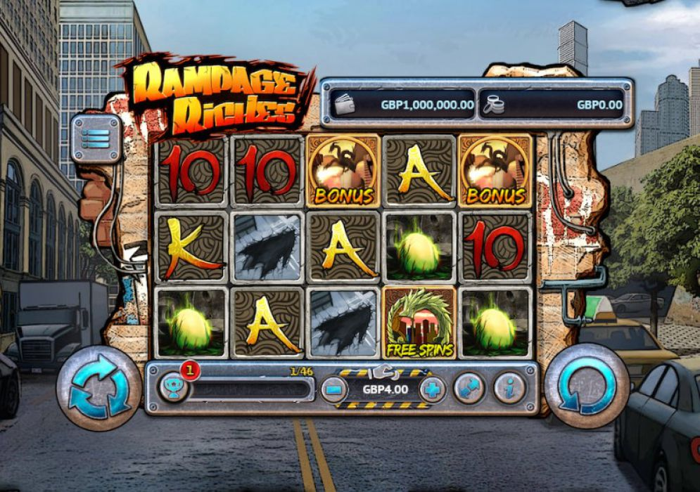 Rampage Riches Slot Game