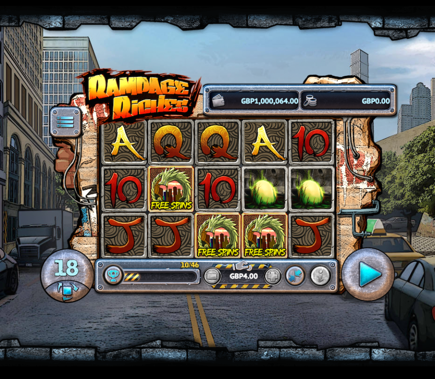 Rampage Riches Free Slots