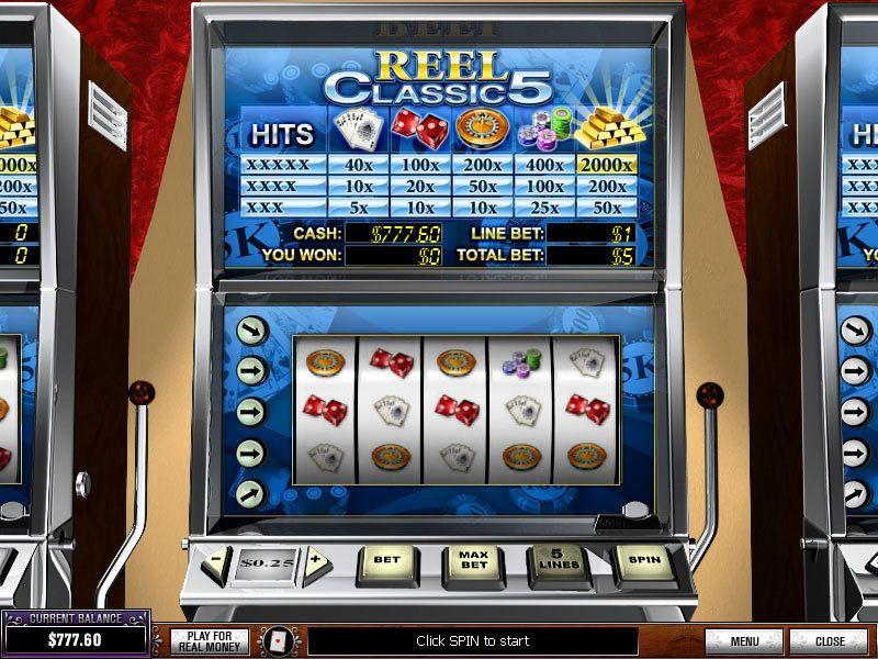 Top 5 Reel Slot Machines