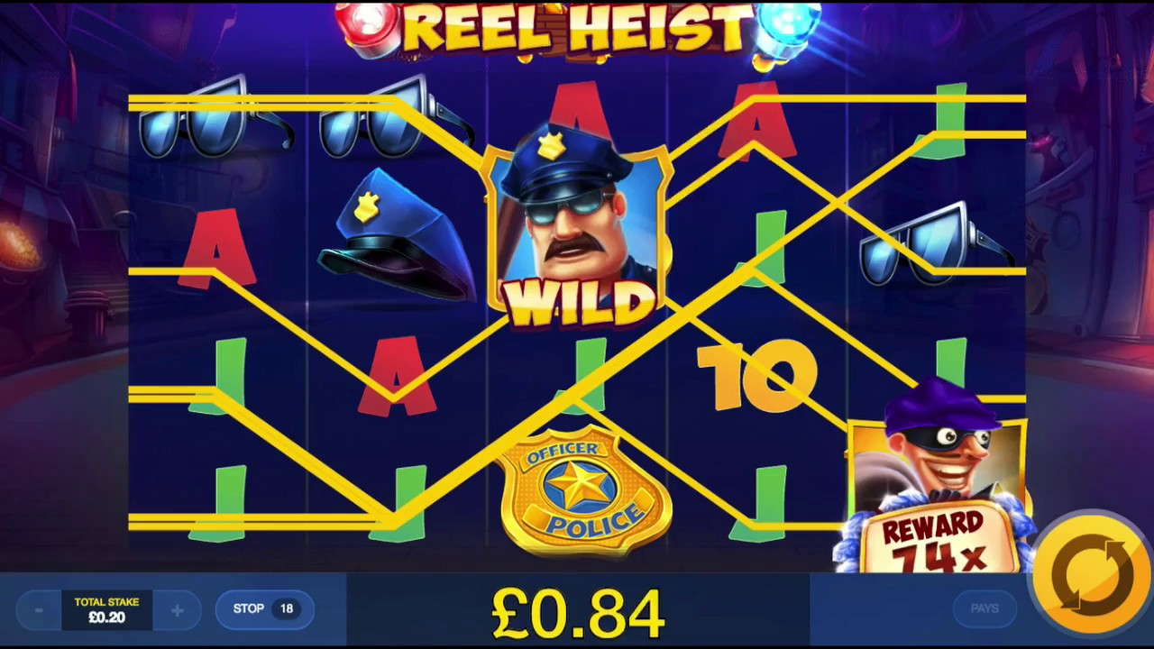 Reel Heist Slot Online