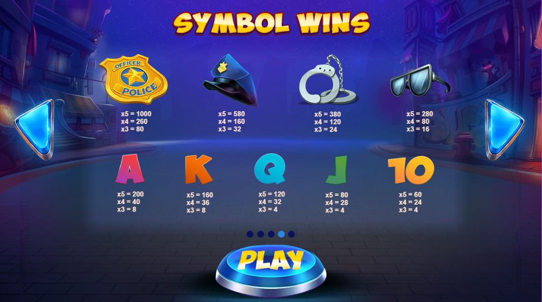 Reel Heist Slot Symbols