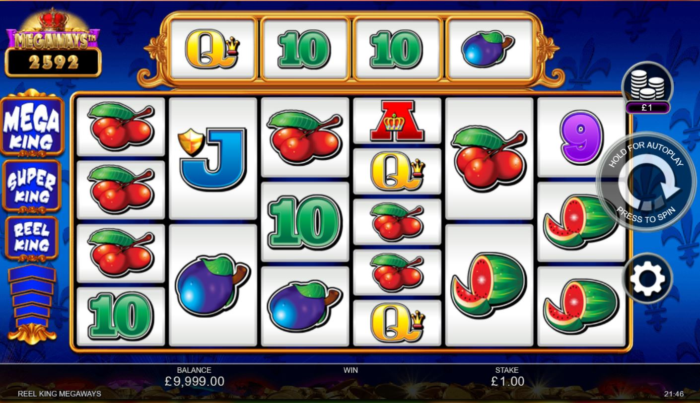 Reel King MegaWays Slot Online