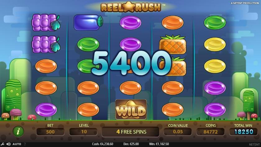 Reel Rush Slots Game