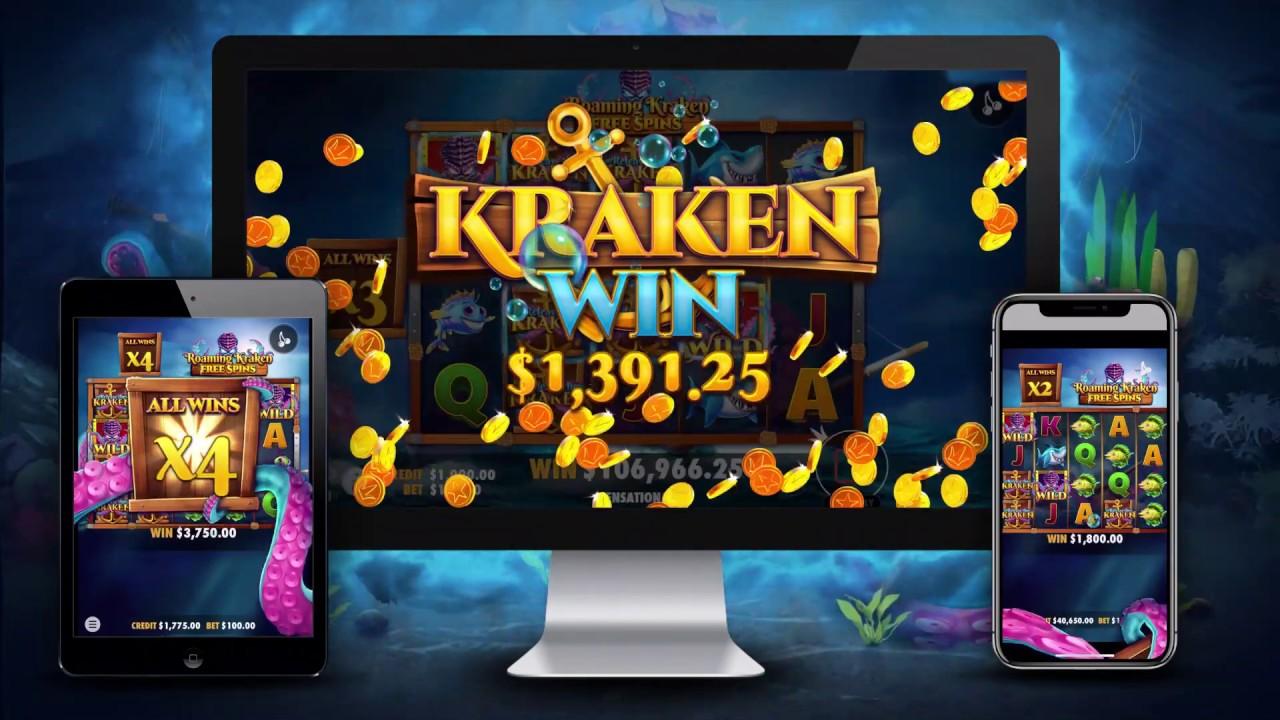 Release the Kraken Slots Uk