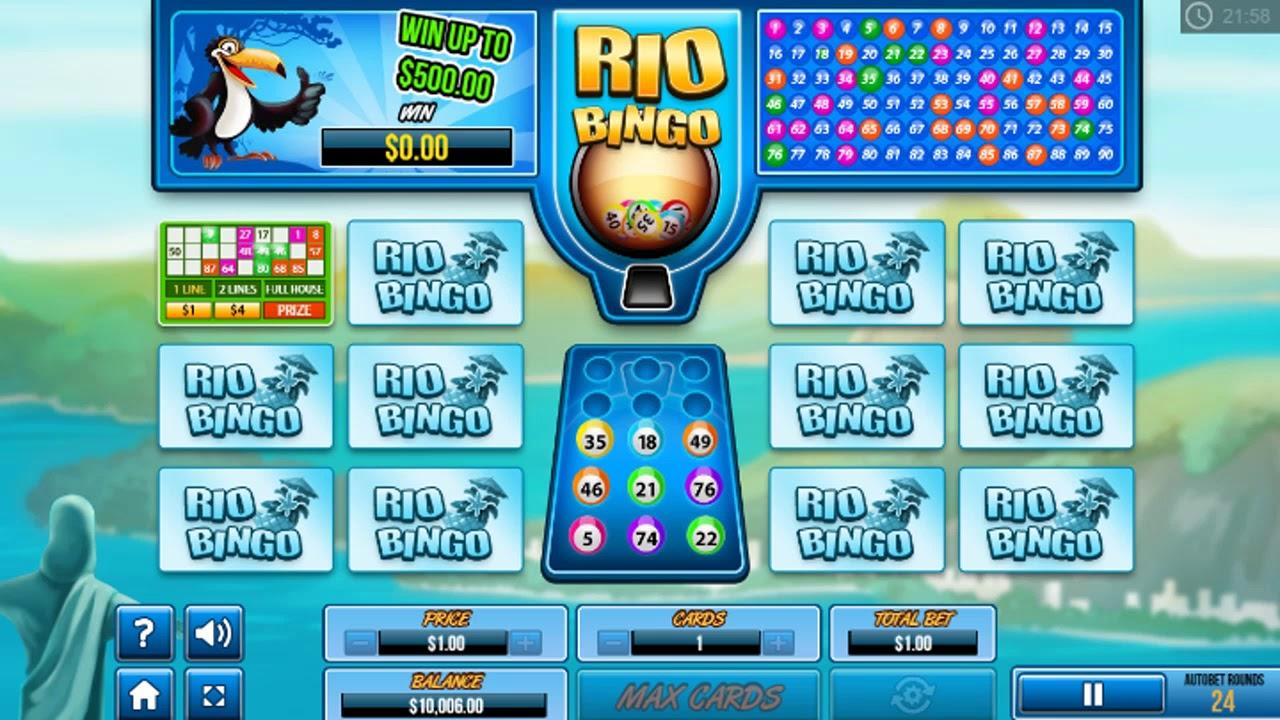 Rio Bingo Game Play