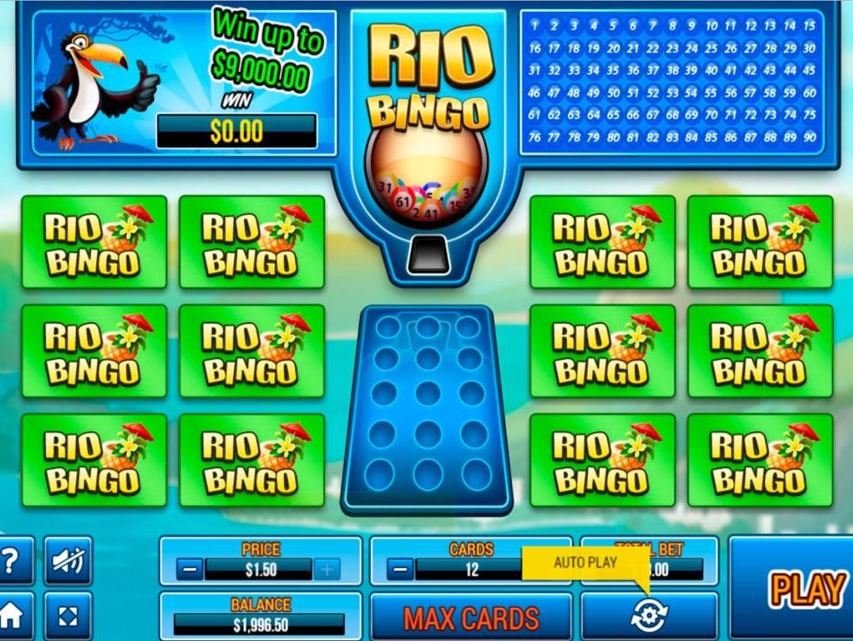 Rio Bingo Online