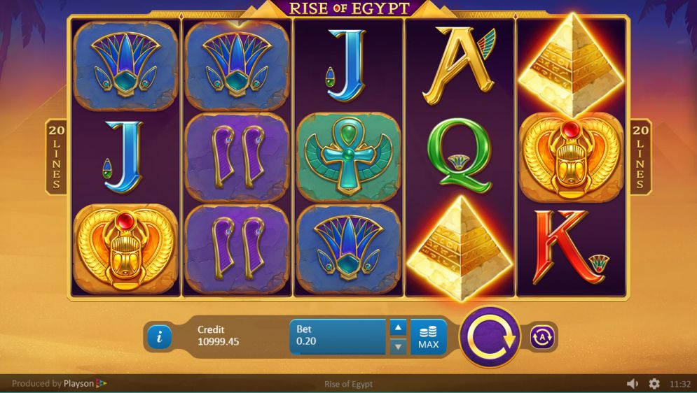 Rise of Egypt Slot Game