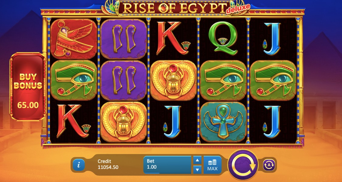 Rise of Egypt Deluxe Slots Reels