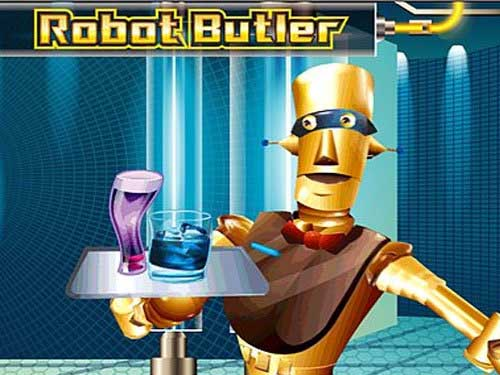 Robot Buttler Microgaming slot