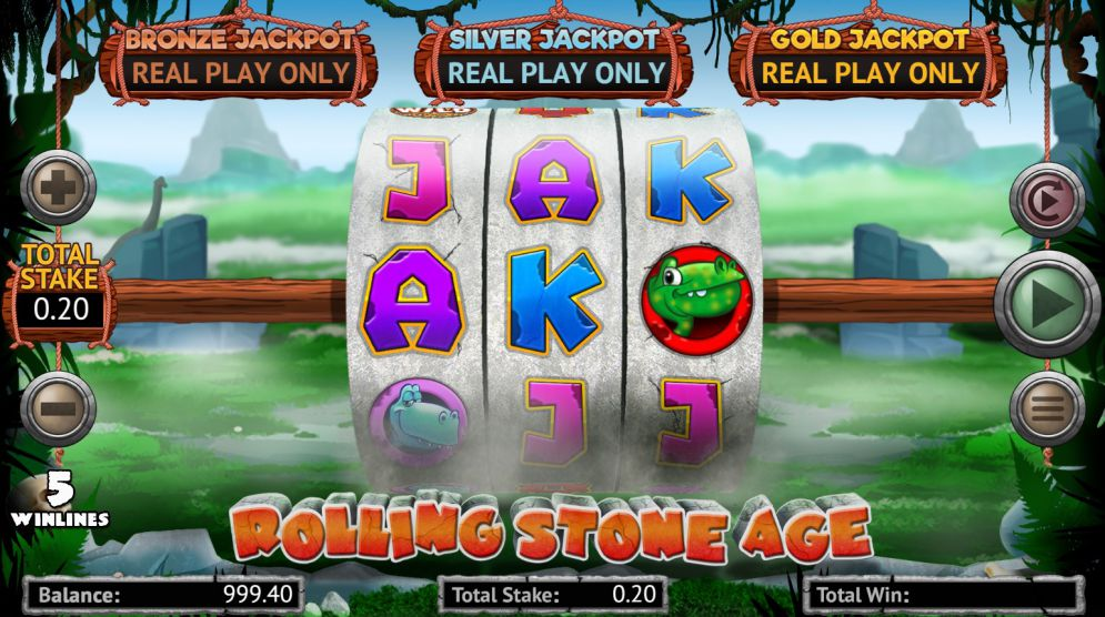 Rolling Stone Age Free Slots