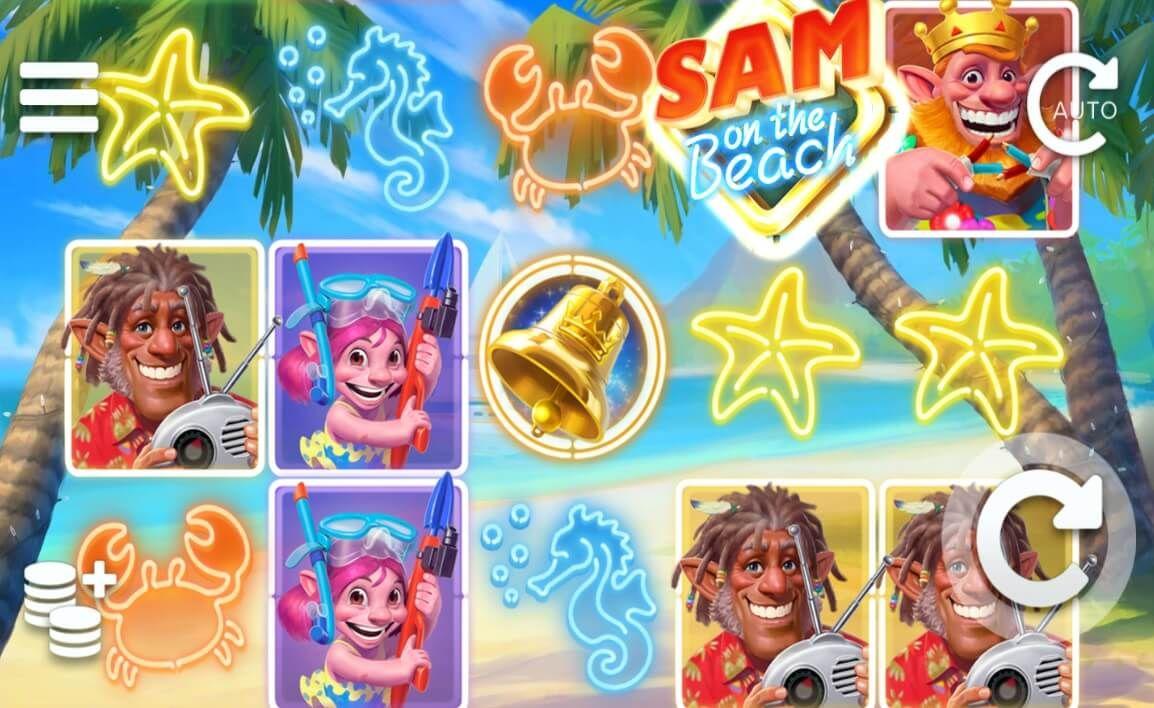 Sam on the Beach Free Slots