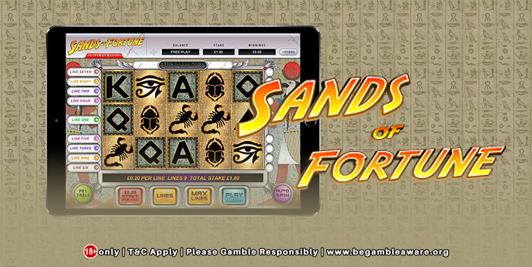 Sands of Fortune Slot Thor Slots