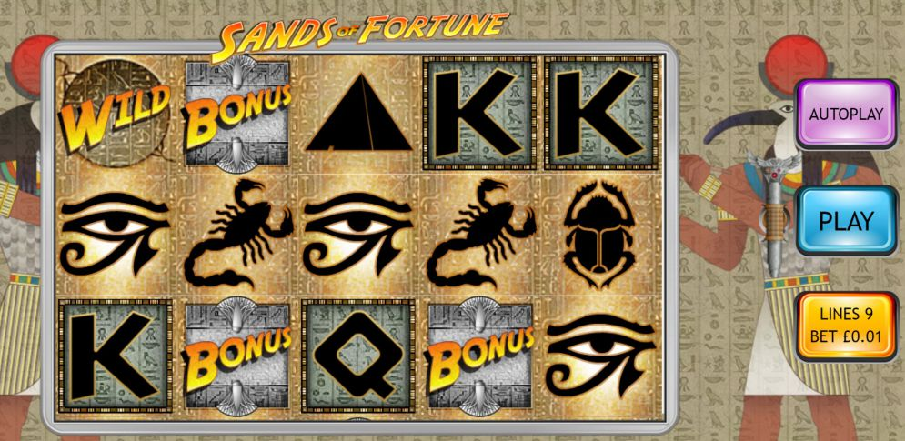 Sands of Fortune Slot Game