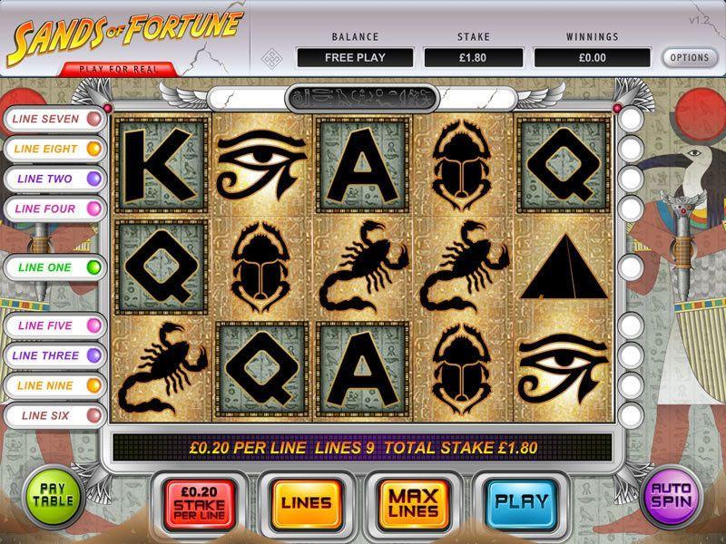 Sands of Fortune Slot UK