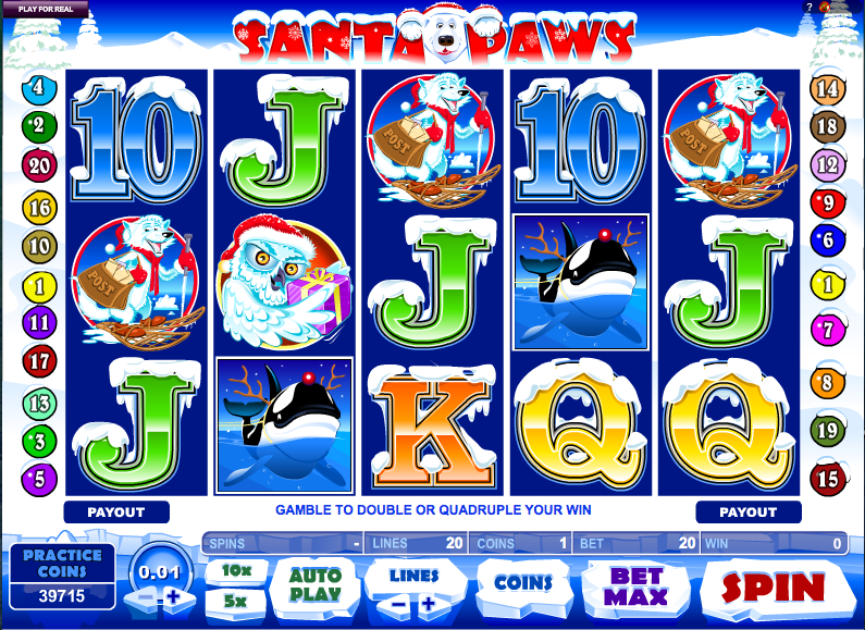 Santa Paws Slot UK