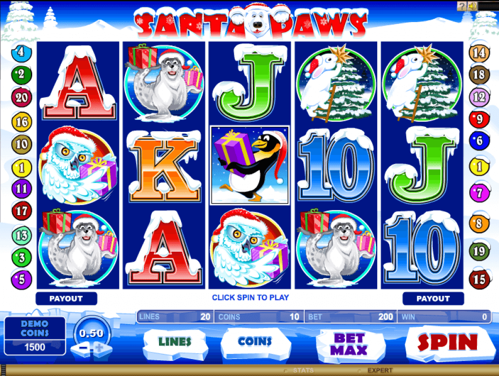 Santa Paws Slot Game
