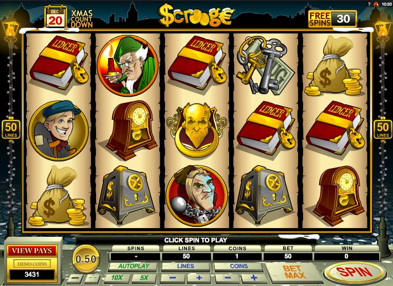 Scrooge Slots Thor Slot UK