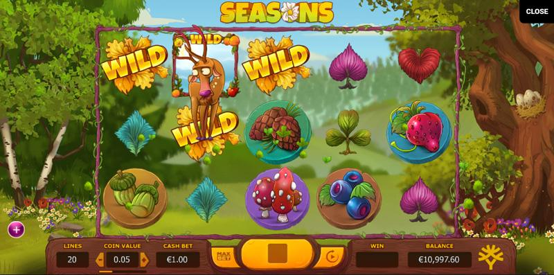 Seasons Slot Online