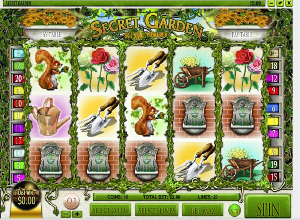 Secret Garden Slot Game