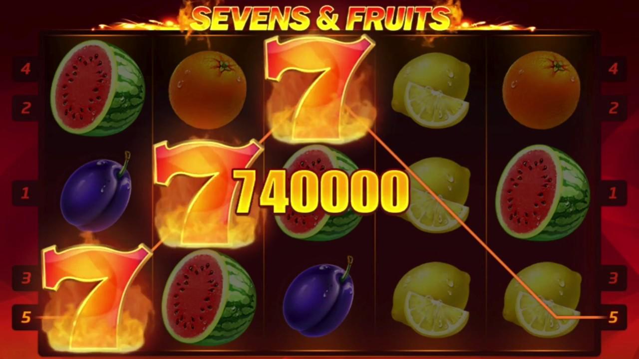 Sevens and Fruits FreeSlots