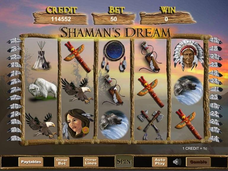 Shaman Spirit Jackpot Slots