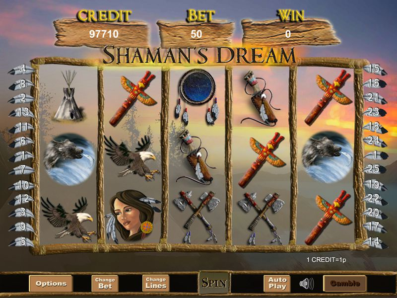 Gameplay of Shamans Dream