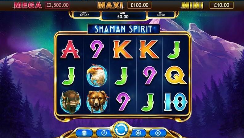 Shaman Spirit Jackpot Slot Game