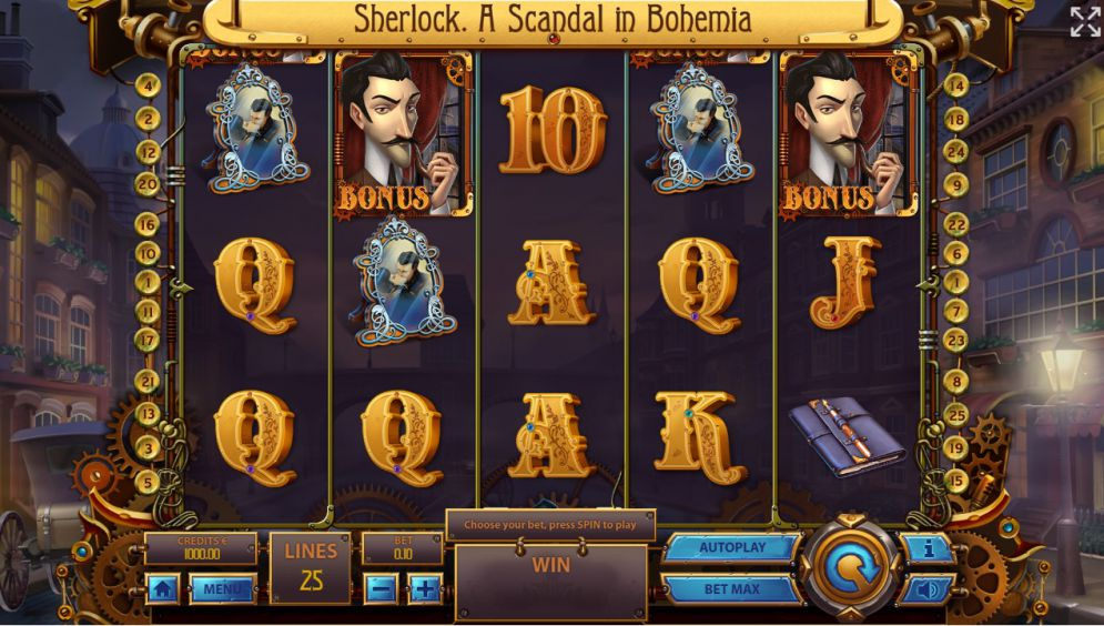 Sherlock: A Scandal in Bohemia Slot Game