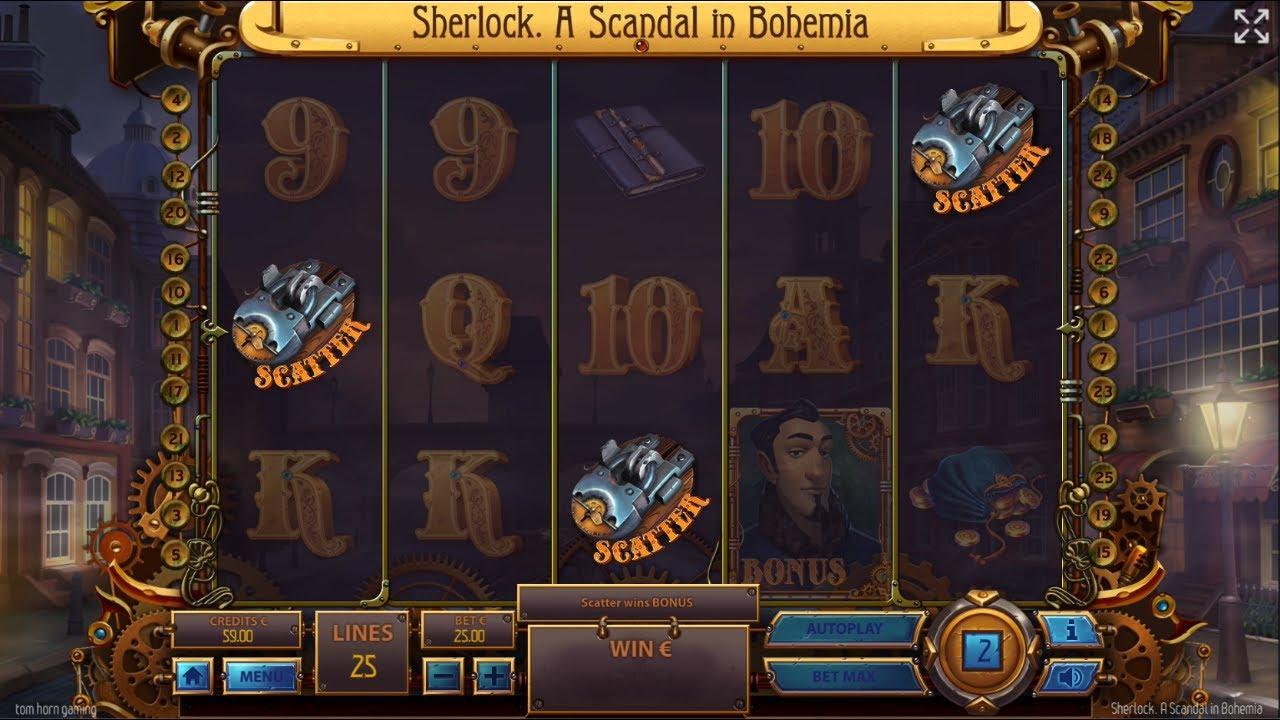 Sherlock: A Scandal in Bohemia Free Slots