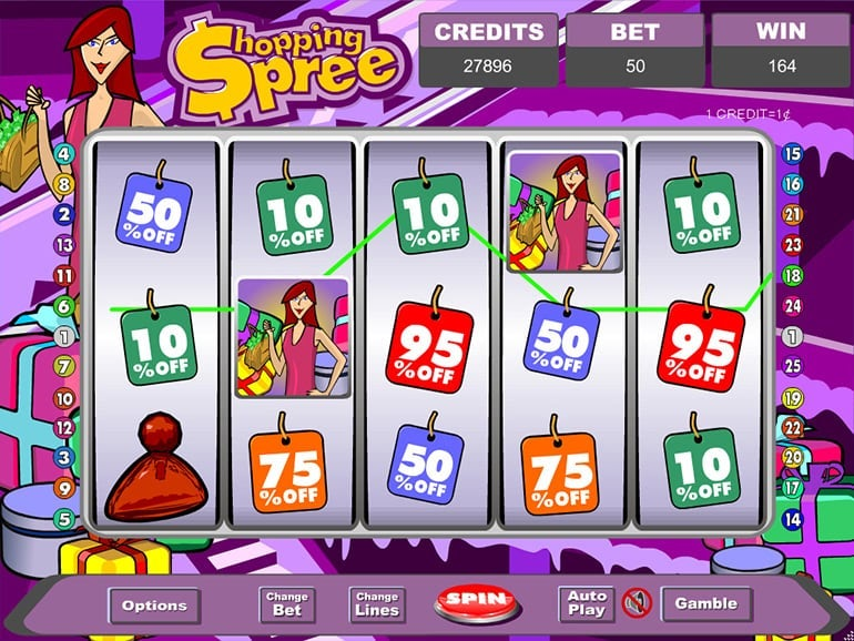 Shopping Spree Jackpot Slots Online