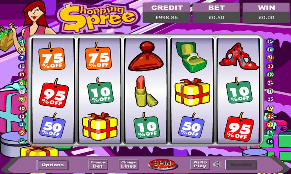 Shopping Spree Jackpot Slots
