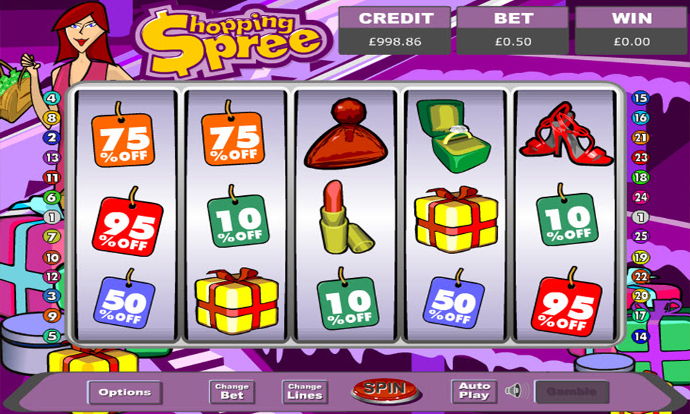 Shopping Spree Slot Game