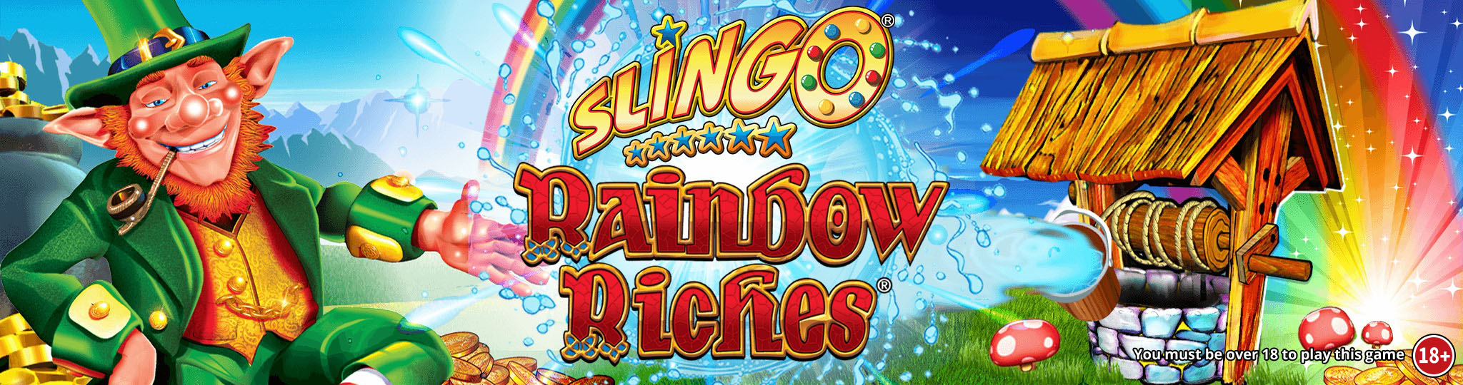 Slingo Rainbow Riches Slot Thor Slots