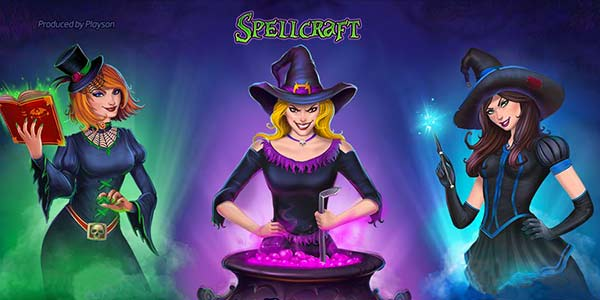 SpellCraft Slots Logo Thor Slots