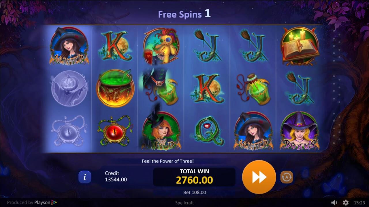 SpellCraft Slots Games