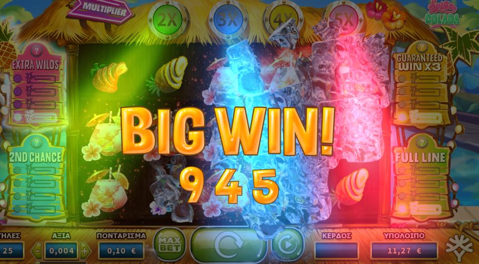 Spiña Colada Slot Big Win