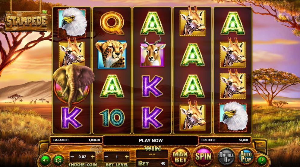 Play Stampede Jackpot Slots