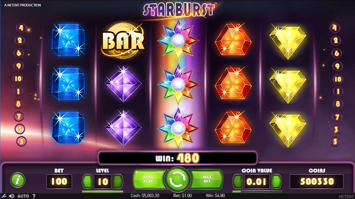 starburst free spins gameplay