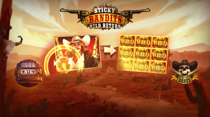 Sticky Bandits Slot Bonus