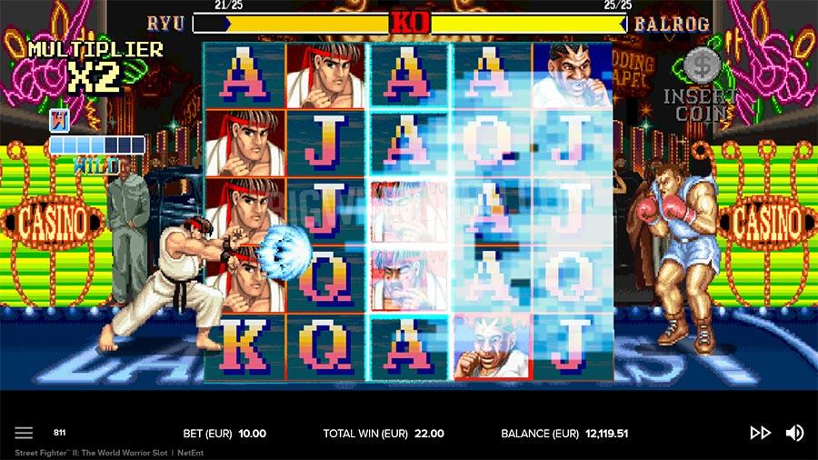 Street Fighter II: The World Warrior Free Slots