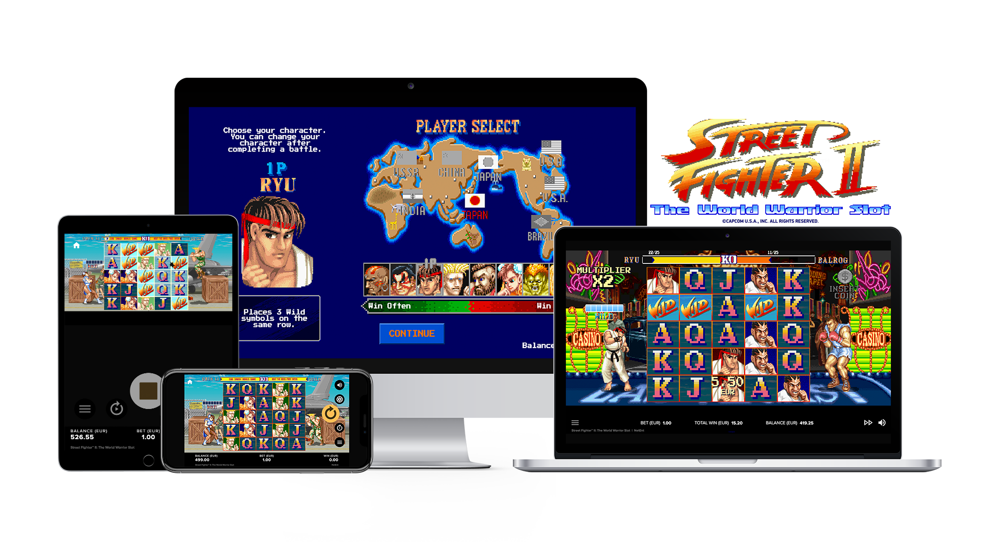 Street Fighter II: The World Warrior Mobile Slots