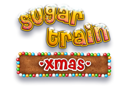 Sugar Train Xmas Slot Logo Thor Slots