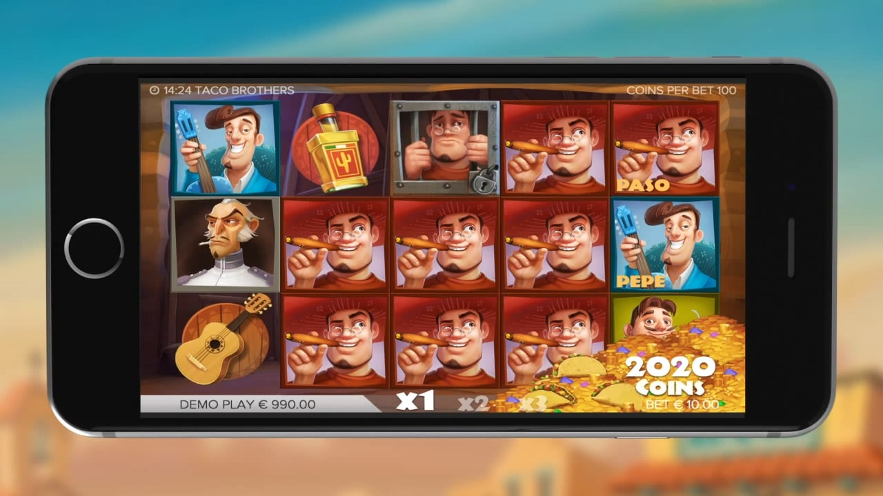 Taco Brothers Mobile Slots