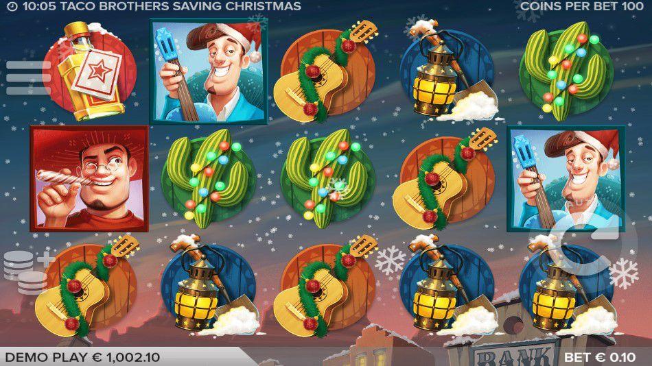 Taco Brothers Saving Christmas Free Slots